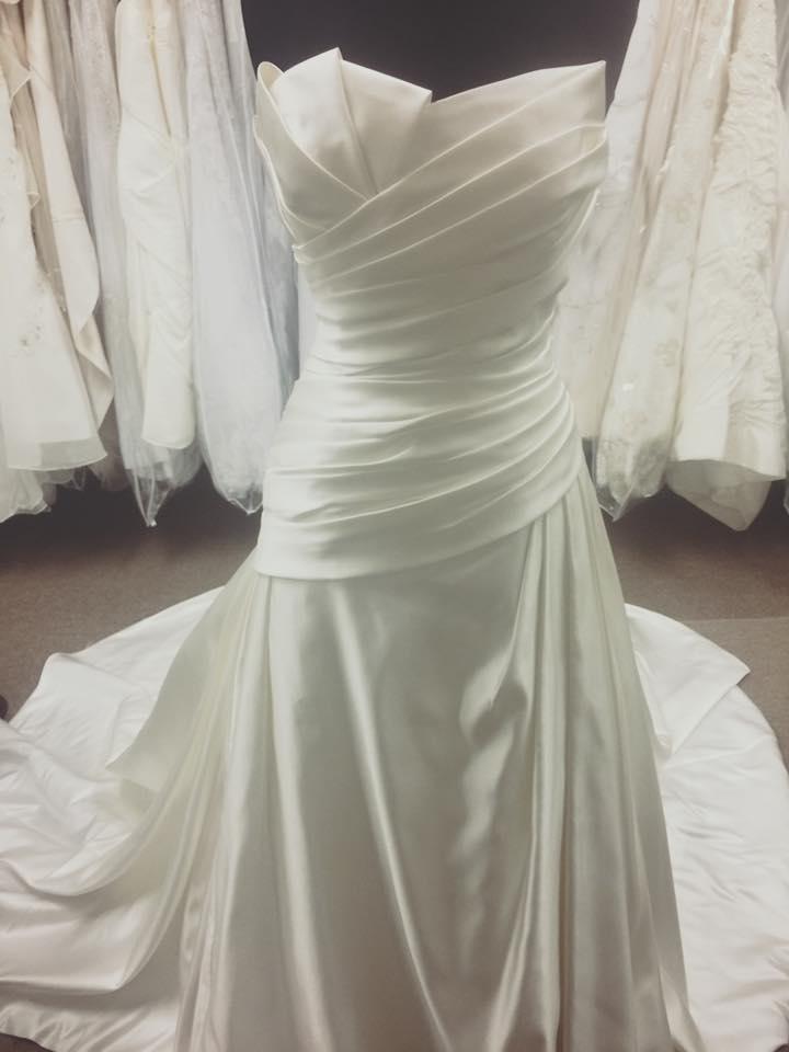 LaSposa, Ivory, Fit N Flare Wedding Gown – Champagne Taste Bridal