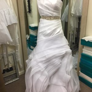 Davinci Fit And Flare Bridal Gown Nwt